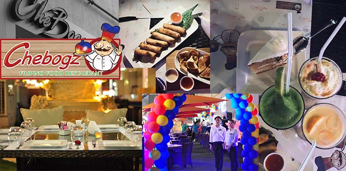 CheBogz Filipino Restaurant in Abu-Dhabi is what you're lookingfor.