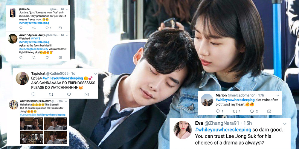 While you were sleeping fans reaction after watching the first 2 while you were sleeping fans reaction after watching the first 2 episodes in twitter stopboris Images